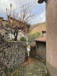 mittelalterliche Strassen in Pescaglia